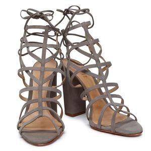 Never been worn Schutz Strappy sandals